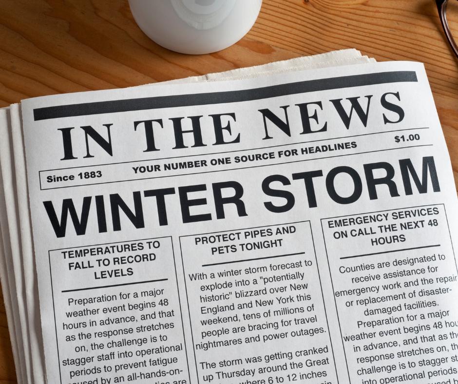 Winter Storm Fb Post